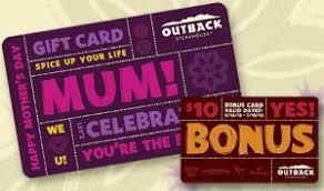bonefish gift card restaurant gift card deals bonefish grill outback macaroni