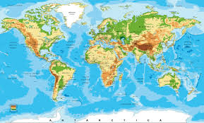 Africa Map Physical by Africa Map