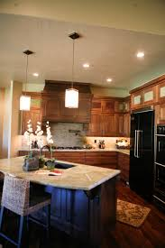 home design nice kitchen island blueprints with ceiling lighting