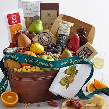 gift baskets food sympathy gifts gift baskets shari s berries