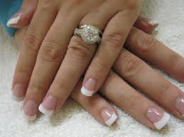 36 acrylic nail designs white tip stylepics
