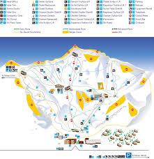 Tehran Map Trail Map Dizin
