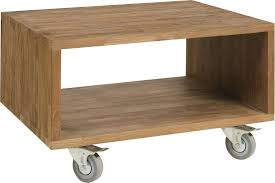 coffee table box on wheels laminated