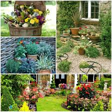 Creative Garden Decor Tinker Garden Decor U2013 Introduce A Rural Touch In The Garden Hum