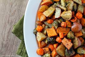Easy Side Dish For Thanksgiving Roasted Fall Vegetables Love Grows Wild