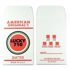 american original s lucky 710 color shatter labels extract