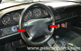 Porsche 993 Interior Pelican Technical Article Porsche 993 Steering Wheel And