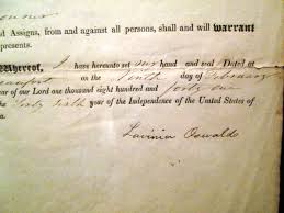 Bills Of Sale For Car by Lot Detail Usa South Carolina Bill Of Sale For Slave 1841