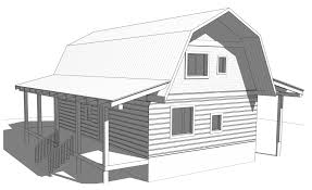 barn gambrel style ecolog on vancouver island