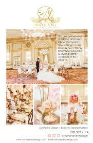 Wedding Backdrop Rental Vancouver Mohani Luxe Linen U0026 Event Decor Vancouver Full Service Decor