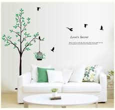 compare prices on home wall tree online shopping buy low price removable vinyl 3d tree wall stickers on the wall home decor tree wall decals for the