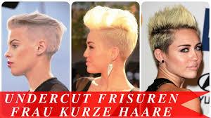 Undercut Frisuren Frau Lange Haare by Undercut Frisuren Frau Kurze Haare