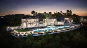 Los Angeles Home Decor Stores 3d Hollywood Architectural Visualisation Of Los Angeles Concept