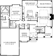 main floor master bedroom house plans craftsman style house plan 4 beds 4 50 baths 3680 sq ft plan 453 14