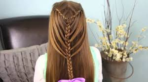 hairstyles for girl video waterfall twists into mermaid braid cute girls hairstyles video