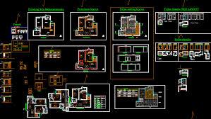 Interior Layout Dwg | designer world 2 bhk flat dwg layout plan and interior design of