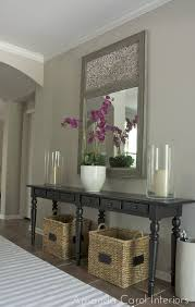 Decorate A Sofa Table Best 25 Small Entry Tables Ideas On Pinterest Foyer Table Decor