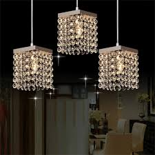 online shop mamei free shipping modern 3 lights crystal pendant