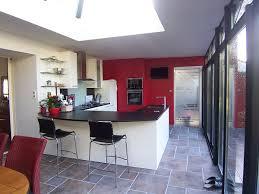 salon salle a manger cuisine salon salle a manger en l décoration de maison contemporaine