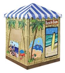Sandboxes With Canopy And Cover by Badger Basket U0027s Beach Bum Covered Cabana Sandbox And Playhouse