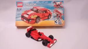 ferrari f1 lego yoshiny u0027s design lego f1 31024 alternate build of ferrari formula