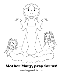 miraculous medal coloring pages for december 8 feast of throughout