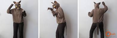diy wolf costume ohoh