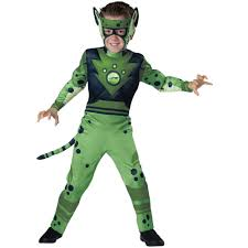costume men halloween wild kratts quality green cheetah child halloween costume