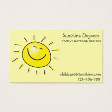 childcare business cards daycare business cards templates zazzle
