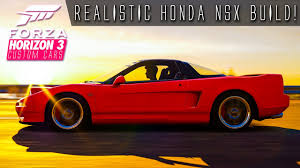 custom honda nsx realistic clean 400hp honda nsx build forza horizon 3 custom