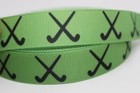 ribbon by the yard green field hockey ribbon 7 8 grosgrain ribbon by the yard for