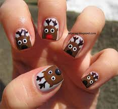 easy u0026 cute christmas nail art designs u0026 ideas for kids 2016