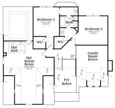 craftsman style house plan 3 beds 2 50 baths 2028 sq ft plan