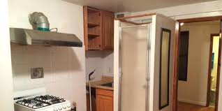 nyc apartment comes with everything including a shower in the