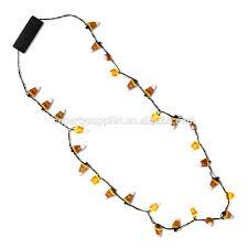 new design light up candy corn halloween necklace buy light up