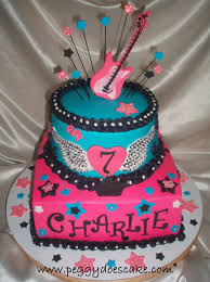 rocker birthday cake cakecentral com