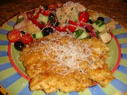 our blissfully delicious life panko u0026 parmesan crusted chicken