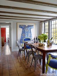 Good Home Design Magazines by How To Decorate A Big Dining Room Wall How To Decorate A Dining