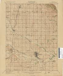 Nebraska State Map by