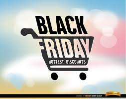 black friday free black friday shopping cart background free vector 123freevectors