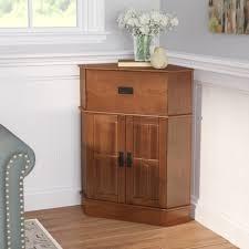 Corner Filing Cabinet Charlton Home Whitaker 2 Door Corner Cabinet U0026 Reviews Wayfair