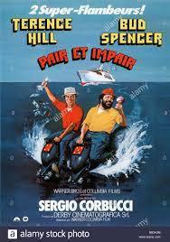 Bud Spencer Bad Terence Hill Bud Spencer Director Giuseppe Colizzi Stock Photo