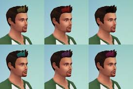 custom hair for sims 4 sims 4 custom content makplays