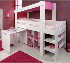 chambre ado moderne chambre ado fille avec mezzanine chambre enfant fun avec lits