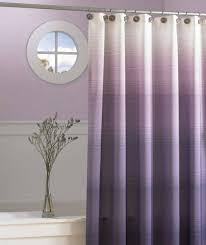 bathroom modern shower curtain for bathroom purple ombre