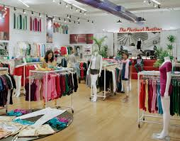 Clothing Store Floor Plan by Sustainable Bamboo Flooring Covers The Large Back Room Which Was