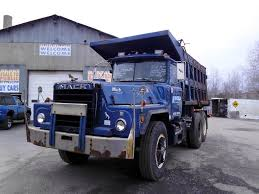 used mack trucks 1985 mack dm886sx tandem axle dump truck for sale by arthur trovei