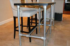 metal bar height table counter height table base idtworldwide co