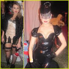 Miley Cyrus Halloween Costumes Miley Cyrus U0026 Dita Von Teese Maroon 5 Halloween Party Aziz