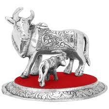 amazon com cow and calf holy cow and calf statue spiritual
